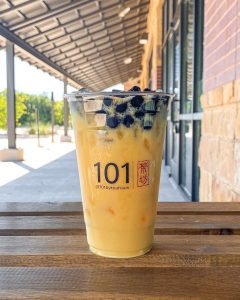 boba orange big bang 101 tea haus