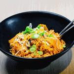 Kimchi Fried Rice (V)