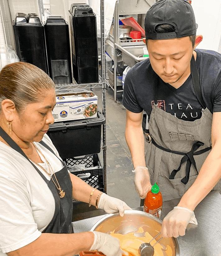 101 Tea Haus kitchen team Asian Fusion